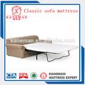 clássico sofá colchão com alta densidade de espuma de pu