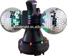 """LED 4"""" Twin Mirror Ball lamp"""