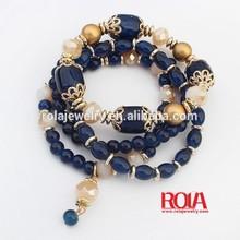 Cheap Factory Prices!! New Design gold rutilated quartz bracelets