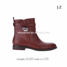 OB12 flat heel high quality women warm boots