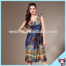 China Factory Produce Lady Dress