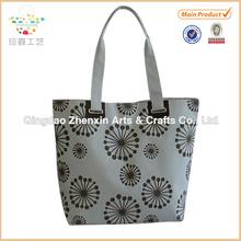New pattern ladies handbag with flower printing