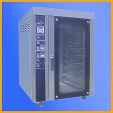 High Quality10 trays Electrical Bakery Laf Bread Baking Hot Air Convection Oven For Sale