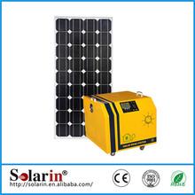 house using solar lighting DC AC solar home system off grid kit solar lighting