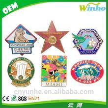 Winho custom metal emblems