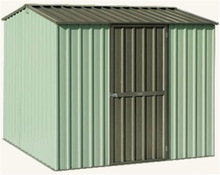 Garden Steel Shed Supplier 8x6ft / Cheap shed kitset with side hung door