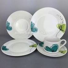 cheap round porcelain dinner sets 20pcs good quality
