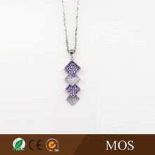 2015 Latest hammered metal fashion Jewelry Necklace