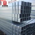 Seamless square tubo de acero al carbono / acero polos