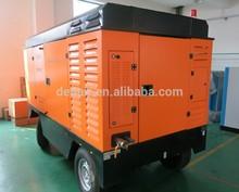 Kompresor Diesel Portabel 460HP 25Bar Germany DENAIR untuk Tambang Batu Bara