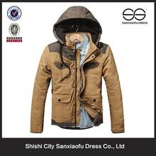 Wholesale Latest Winter Custom Hooded Parka Jacket For Men