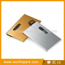 1gb 2gb 4gb 8GB 16gb 32gb slide out metal card usb flash drive