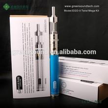 Newset vaporizer pen Ego II TWIST KIT 2200mah vape mods electronic cigar