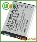 3.7V 700mAh Li-ion Battery for Samsung M240 M320 A837 AB553446BA