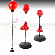 Velocity Boxing Stress Reliever Desktop Speed Punching Ball w/ Heavy Duty Suction Cup and Spring, Pump