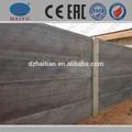 límite de hormigón de la pared que hace la máquina de prefabricados