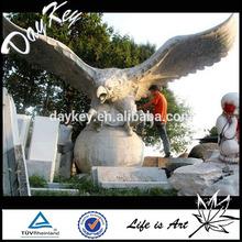 Granite large eagle statues for garden