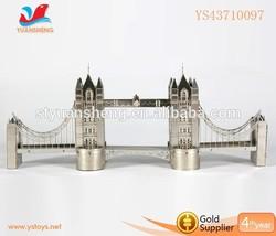Children toy London Bridge model 3D puzzle Metal Simulation Model Educational Toys Metallic Puzzle