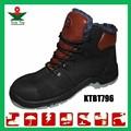 nova couro superior respirável negro catástrofe acidente botas de protecção