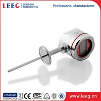 2 wire loop powered indicator for programmable temperature transmitter with lcd