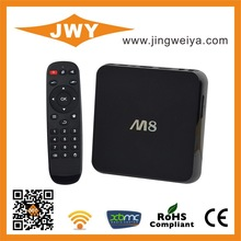 set top Box Jingweiya 2gb 8gb Amlogic S802 M8 Quad Core youtube XBMC 13.2 google tv box dongle case