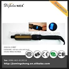 2015 hair curling machine crystal Hair brush hair roller