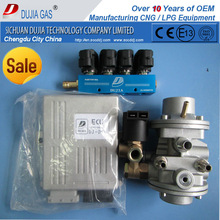 - 5% of cost ! Complete cng auto cng gasoline fuel conversion kit for injected vehical