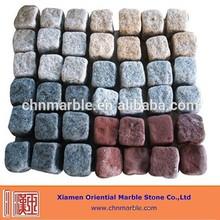 different colour cube stone