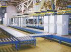 Roller conveyor production line