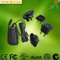 Ac dc adaptateur 12v 0.8a avec nous eninde et uk plug adapter adaptateur électrique