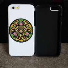 Mobile phone decoration silicone and PC super protect combo rugged phone cover