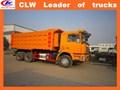 China exporta 6*4 30 shacman camión volquete de toneladas 6*4 volcado de camiones para la venta camionesdevolteo usados para la venta
