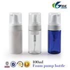 Clear Plastic Foamer Bottle Pump Travel Size White Mini Soap Dispenser 3oz