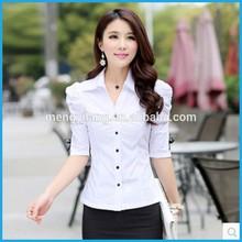 Ms verano de la camisa ropa para mujer de la edición de han cultiva de una de las camisas de manga corta para señora trajes de herramientas