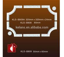 B809A Gypsum Plaster Ceiling Decoration, PU Corners and Frames