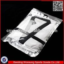2015 alibaba new 100% polyester ultra light taekwondo uniform factory