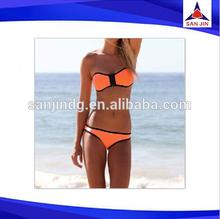 Neoprene micro bikini triangl swimwear bikini open sexy hot sex bikini young girl swimwear