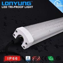1200mm 60w rigid led light ip 65 waterproof dust proof impact proof