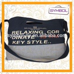 Fashionable cheap canvas shoulder bag messenger