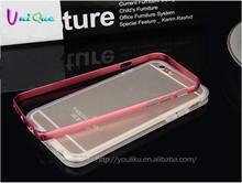 prestigio mobile phone bumper case for iphone 6 cover clear transparent tpu