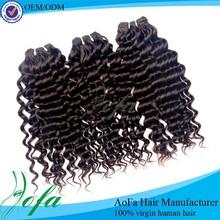 2014 popular style malaysian loose deep wave hair weave