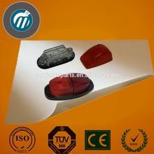 Claro led/chrome marcador lateral, led marcador lateral de luz, led de luz para los camiones