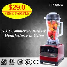 2L fruit blender small kitchen food processor