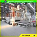 Ampliamente utilizado de paso a través de granallado máquina para placa de acero / h viga de acero