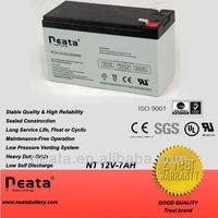 Sealed lead-acid battery 12v 7.0ah in storage batteries