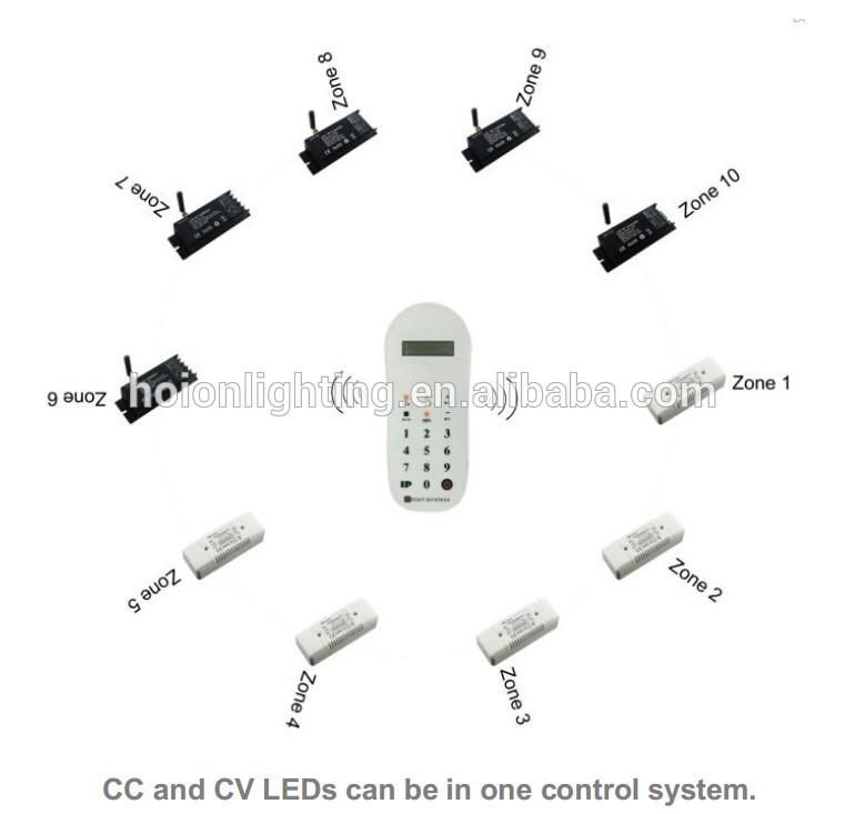 Led Remote Driver 2.4g Multz Remote Led Driver