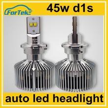 full metal automobiles 45w d1s led head lights 4300K 5000K 6000K 8000K
