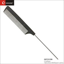 professional salon long handled cutting combs, plastic hair comb