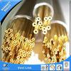 Plastic capillary brass tubing
