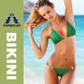Les femmes bikini dame chaude topmelon vert, poussoir3- le maillot de bain maillots de bain rembourré( t102)